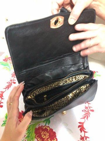 Bolsa de couro Nilce Ribeiro  - Foto 2