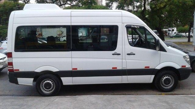 MB Sprinter Van 2.2 CDI 415 Luxo Teto Alto 5 p - Foto 7