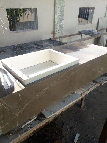 Vendo este lavatório novo em porcelanato Portobello  - Foto 3
