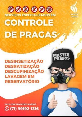 Master Passos controle de pragas .  ZAP *