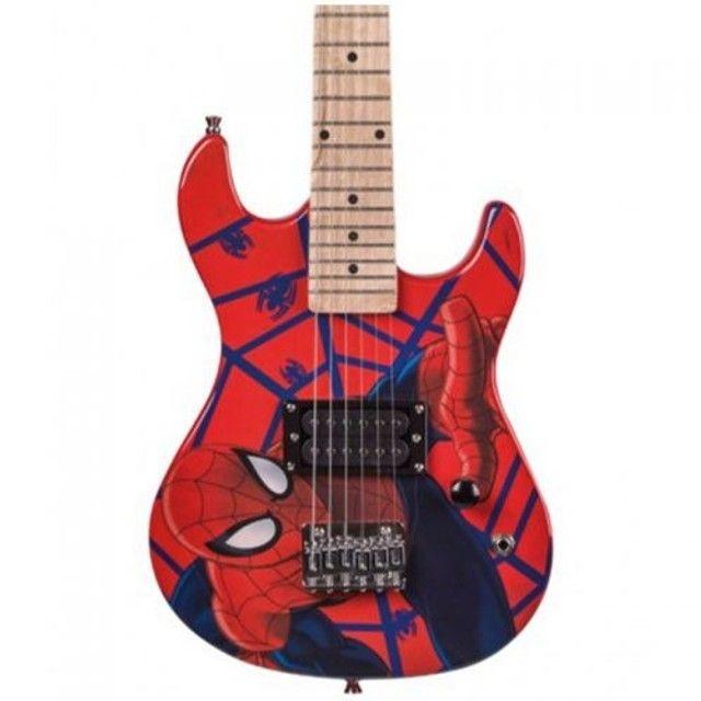 guitarra infantil marvel - Foto 2