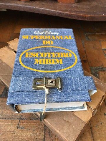 Super manual do escoteiro mirim walt  disney - Foto 4