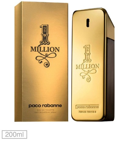 Perfume One Million 200ml. Original
