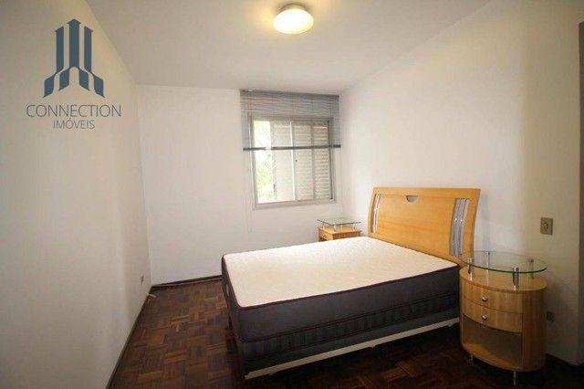 Apartamento com 3 dormitórios para alugar, 120 m² por R$ 2.000,00/mês - Centro Cívico - Cu - Foto 9