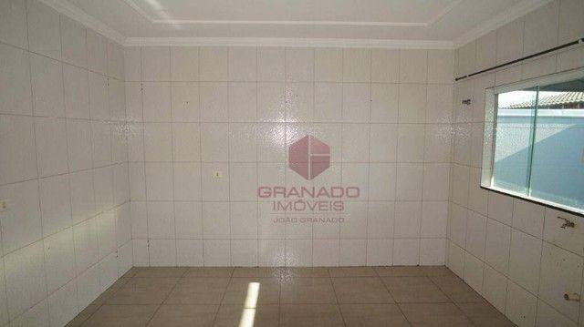 Casa com 3 dormitórios para alugar, 119 m² por R$ 1.200,00/mês - Jardim Tóquio - Maringá/P - Foto 19