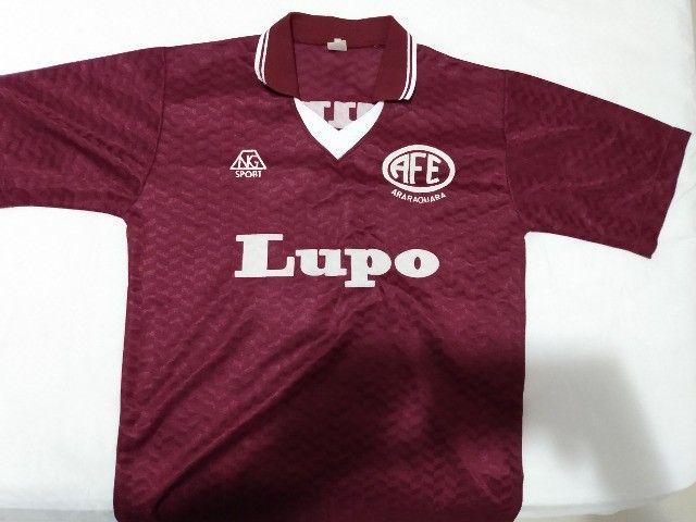 Camisa Ferroviária de Araraquara - 1995/96