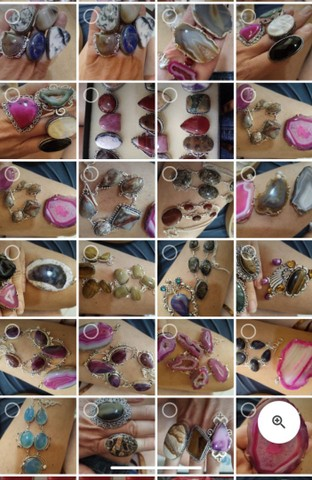 Semijóias com Pedras Verdadeiras - Foto 2
