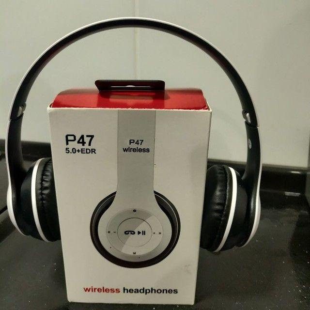 Fone bluetooth, headphone  - Foto 2