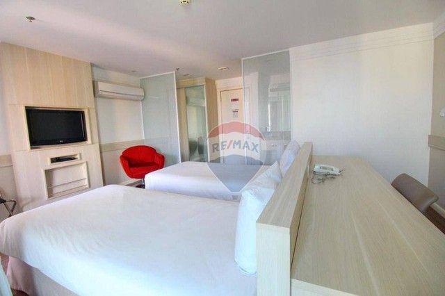 Flat com 1 dormitório à venda, 37 m² - Asa Norte - Brasília/DF - Foto 12