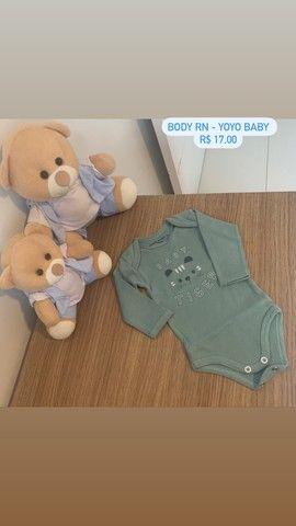 Roupinhas de bebê menino RN e P - Foto 2