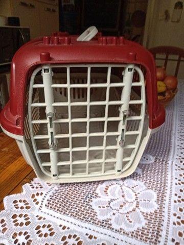 Caixa de transporte cão e gato