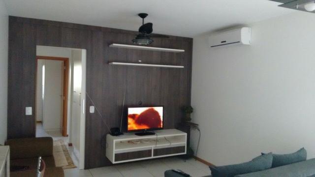 Apartamento no Rio da Prata, 1 suíte, 2 quart, 2 garg, 2 vagas, semi mobilhado