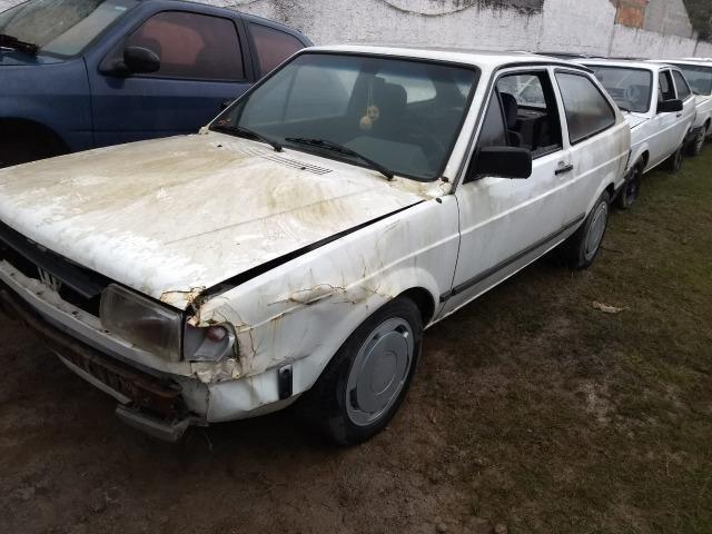 VW Gol Cl 1.0 Cht 1992 Sucata Em Peças Acessorios e Lataria - Foto 5