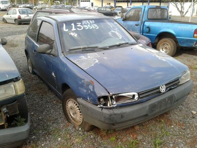 VW Gol Bola 2 Portas 1.0 AT 2002 Sucata Em Peças - Foto 2