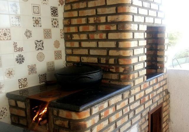 Casa em São Caetano com churrasqueira e fogo a lenha