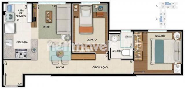 Apartamento à venda com 2 dormitórios em São geraldo, Belo horizonte cod:734309 - Foto 20