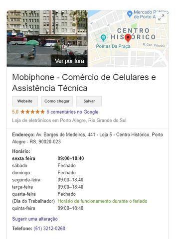 Celular IPhone 5c 16gb Branco, com Garantia Real de Loja e nota fiscal - Foto 3