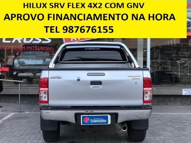 Toyota Hilux Srv Flex c/ Gnv - Foto 3
