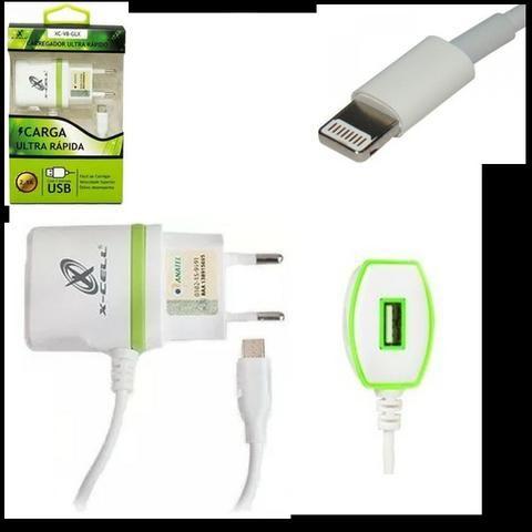 Carregador Turbo Lightining Iphone/ipad Xcell Xc 2.5A