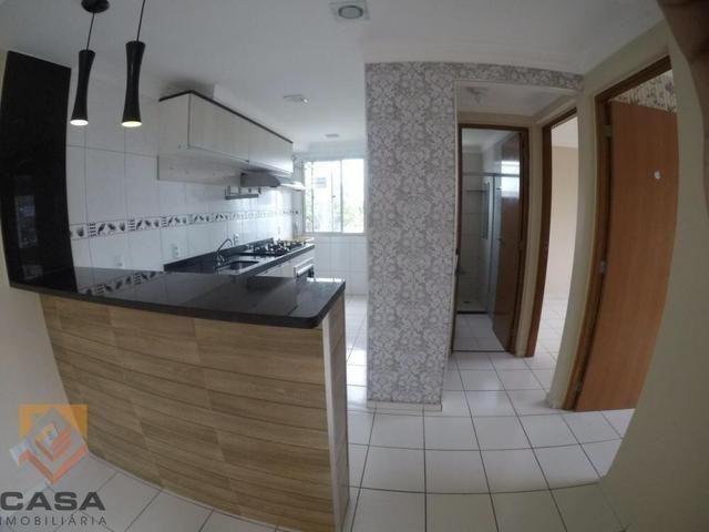 F-M - Lindo apartamento 2 Qts - Cond. Costa do Mar - Foto 3