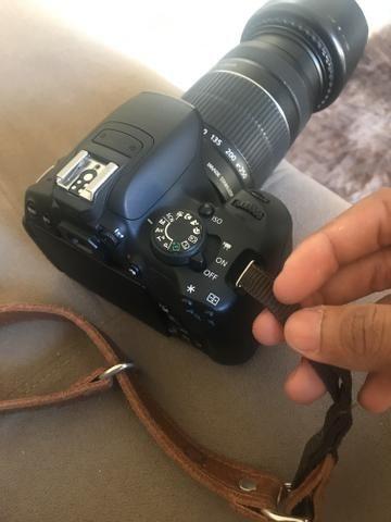 Alça de Couro para Câmera Fotográfica - Foto 3