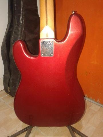 Contrabaixo Fender Precision mexicano - Foto 2