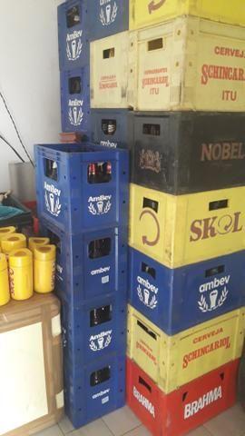Engradados de cerveja 600ml e litrao