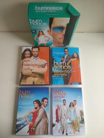 "Box série ""Burn Notice"" - temporadas 1-4 completas - Foto 4"