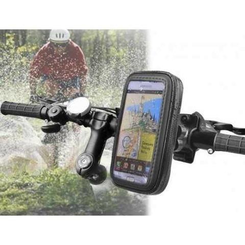 Capas protetoras para celulares impermeável com suporte para bicicletas