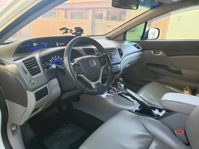Honda Cívic EXR 2013/2014 Automático impecável - não é de leilão - Foto 9