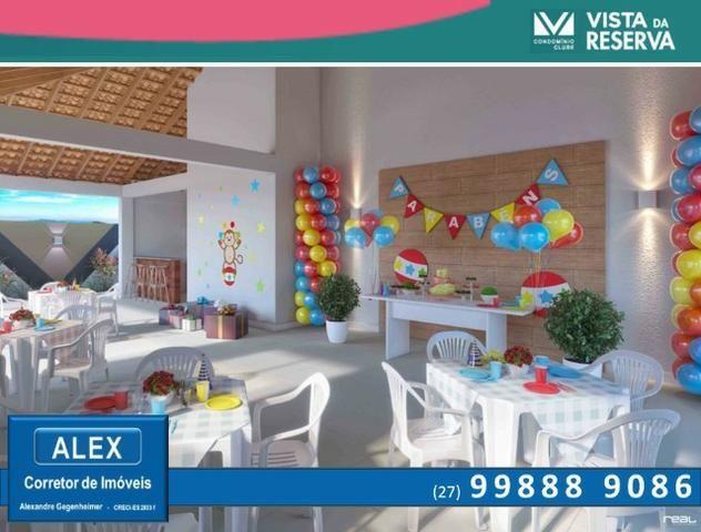 ALX - 14 - APÊ de 2 Quartos, Lazer com piscina e academia - Vista da Reserva - Foto 5
