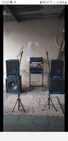 Aparelhagem de som