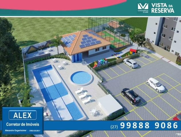 ALX - 14 - APÊ de 2 Quartos, Lazer com piscina e academia - Vista da Reserva - Foto 4