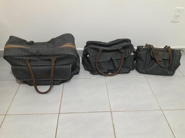 Conjunto de bolsas infantis