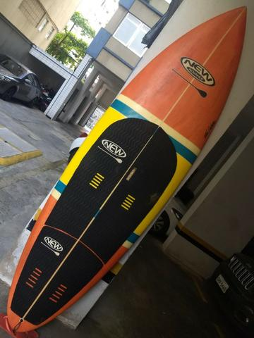Sup Wave 9`0 New Advance usado + remo fibra carbono 9055cdfc949f2