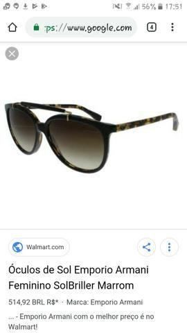 67dd7a1167dbc Lindo óculos Armani - Bijouterias, relógios e acessórios - Afonso ...