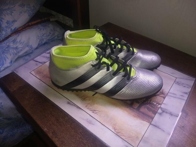 79d2cf1776 Chuteira Adidas original botinha! - Esportes e ginástica - Ermelinda ...