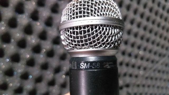 Microfone sem fio LeSon SM-58 - Foto 2