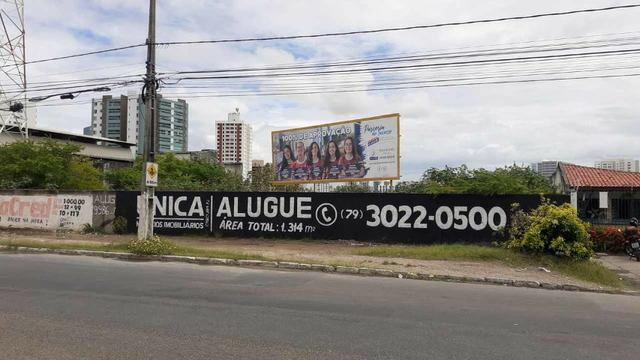 Alugue Terreno com 1314m² na Av. Tancredo Neves