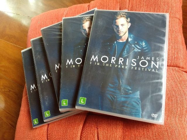 NOVO - DVD James Morrison - T In The Park Festival - Foto 3