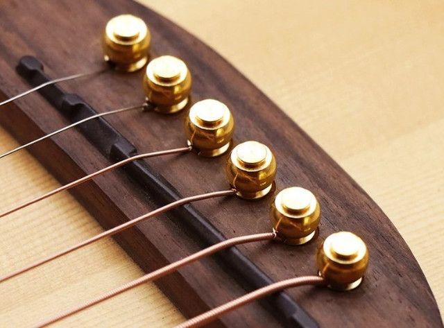 Pino ponte/cavalete violão de aço de alta qualidade - Foto 2