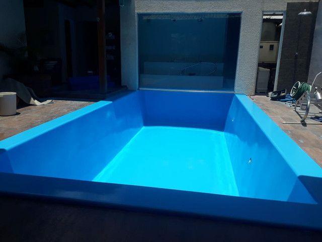 Construímos e reformamos sua piscina e colocamos aquecimento da sua piscina  - Foto 6