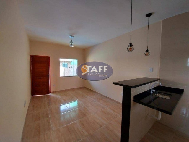 K- Casas lindas com 2 quartos, sendo 1 suíte, no Gravatá em Unamar - Foto 4