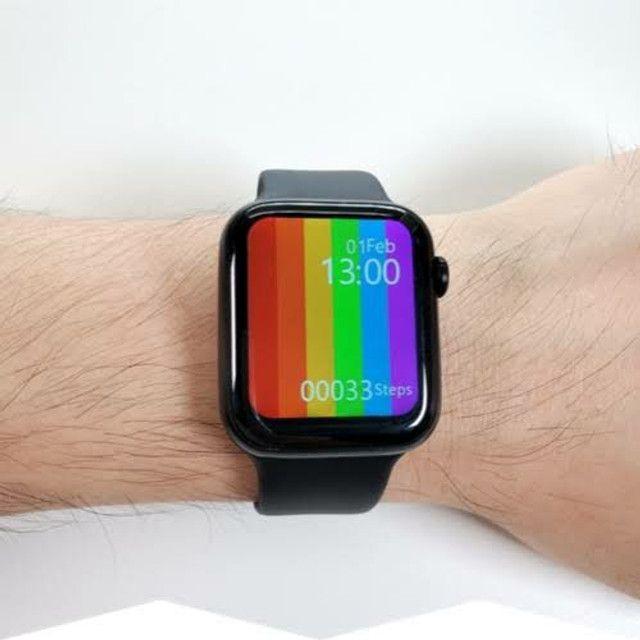 Relógio Smartwatch Iwo 12 Lite W26 Tela Infinita - Foto 2