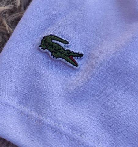 Camiseta Lacoste - Nova - Tamanhos P, G e GG - R$ 54,99 - Foto 4