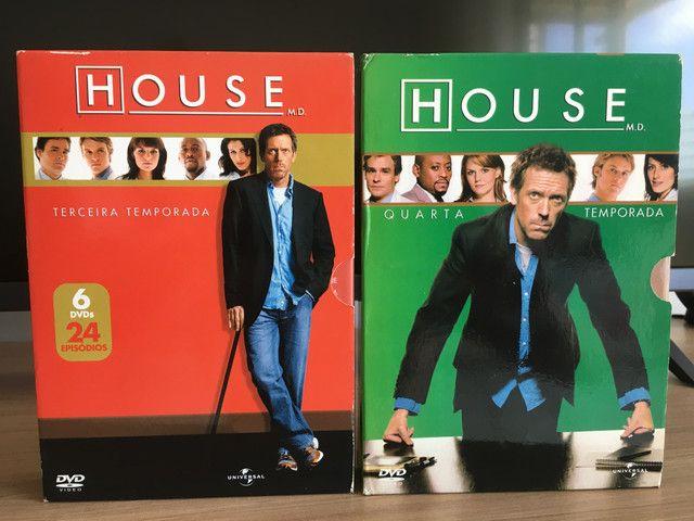 Coleção completa dvds House m.d - Foto 3