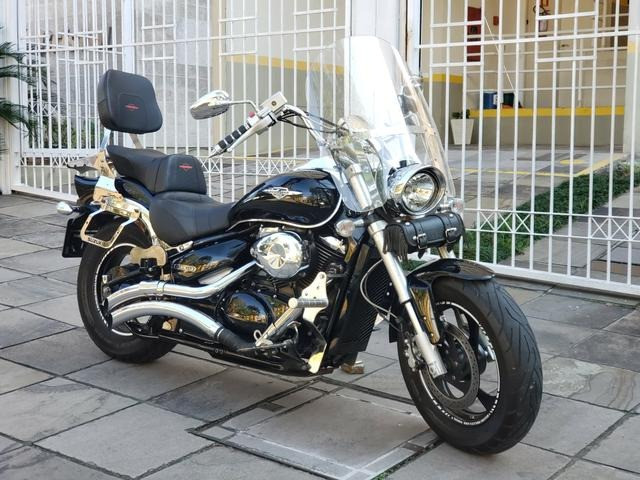 Bolha para-brisa grande para Suzuki Boulevard M800 - usada
