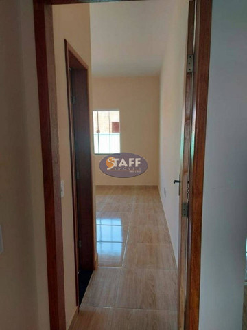 K- Casas lindas com 2 quartos, sendo 1 suíte, no Gravatá em Unamar - Foto 8