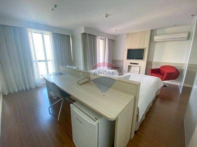 Flat com 1 dormitório à venda, 37 m² - Asa Norte - Brasília/DF - Foto 13
