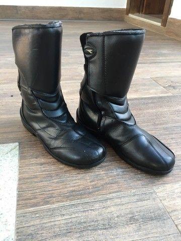 2 par de botas para moto - Foto 4